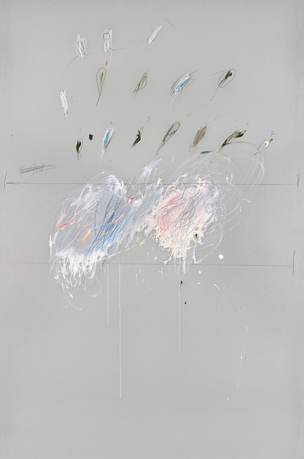 Nine Discourses on Commodus, Part VI | Cy Twombly | Guggenheim Bilbao Museoa