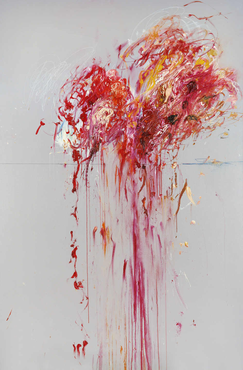 Nine Discourses on Commodus, Part VIII | Cy Twombly | Guggenheim Bilbao Museoa