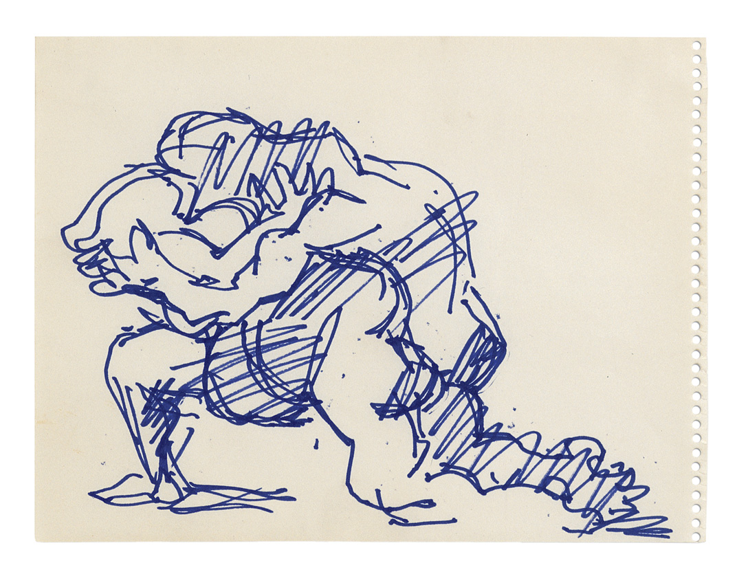 Study for Variation on the Theme of Last Embrace (Salvataggio) III | Jacques Lipchitz | Guggenheim Bilbao Museoa