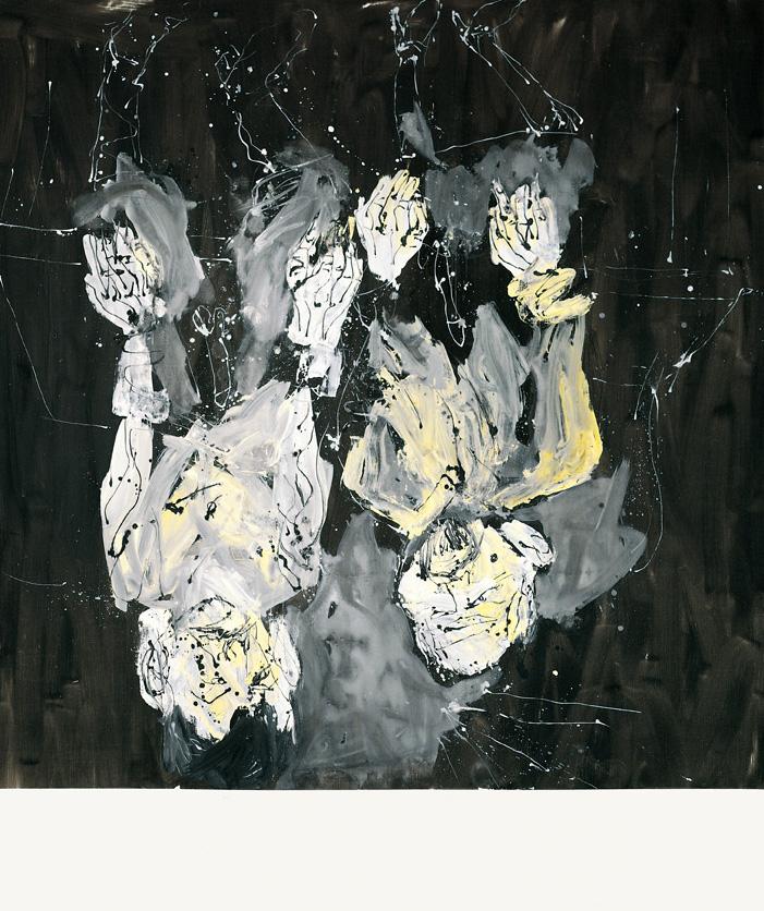 Marcel eta Maurizio nahiko antzekoak dira, pentsa genezake, botikak gorago hegaz egiten du | Georg Baselitz | Guggenheim Bilbao Museoa