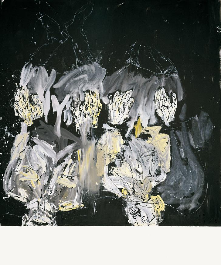 Abestu zure doinua, Cecily, pintoreen anaiarentzat | Georg Baselitz | Guggenheim Bilbao Museoa