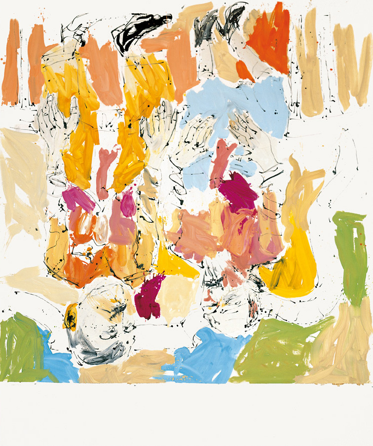 Sunning and mooning in the house of Jeff and Damien | Georg Baselitz | Guggenheim Bilbao Museoa