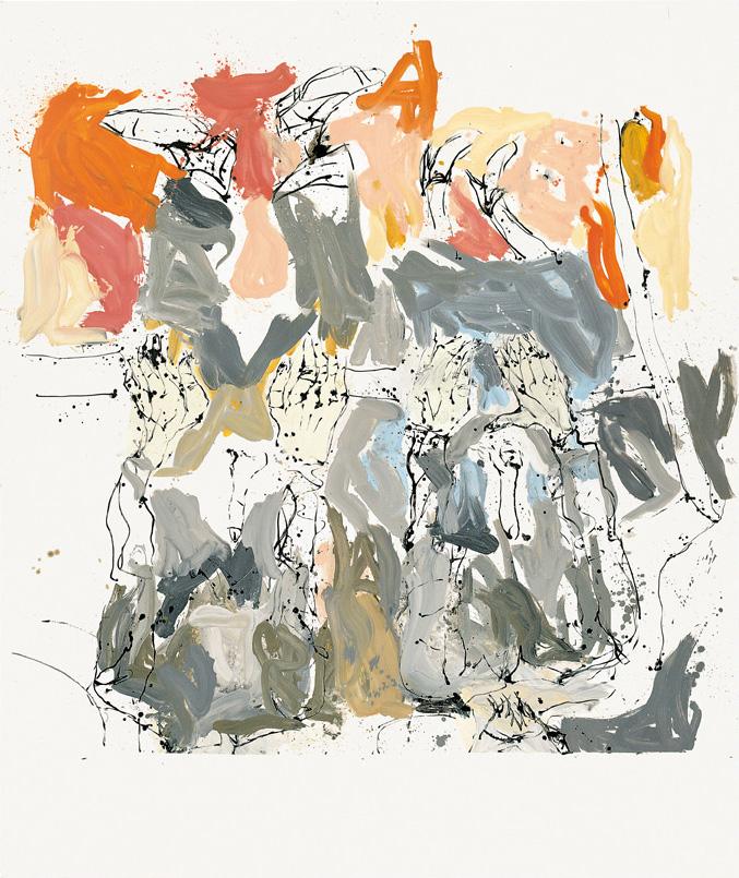 Richard-ek eta John-ek Long Island-en bisitatu zuten hura eta gehiegi edan zuten | Georg Baselitz | Guggenheim Bilbao Museoa