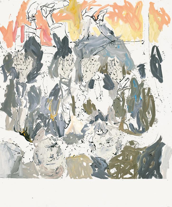 Joseph espantó al tañedor de bandura con su Stuka | Georg Baselitz | Guggenheim Bilbao Museoa