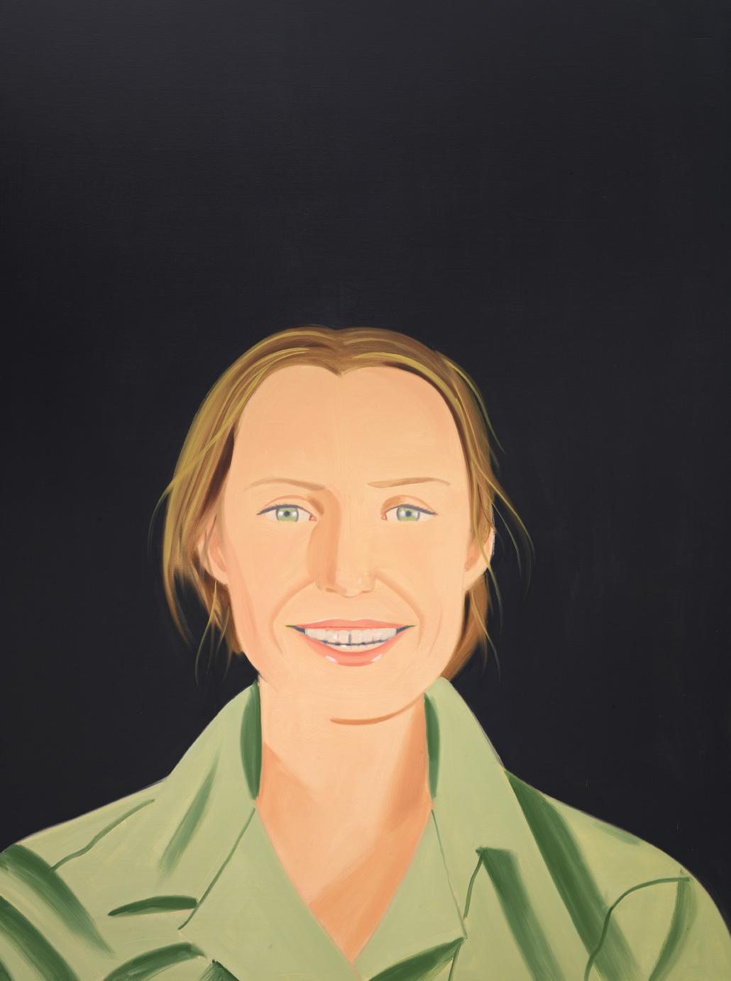 Lauren Smiles | Alex Katz | Guggenheim Bilbao Museoa