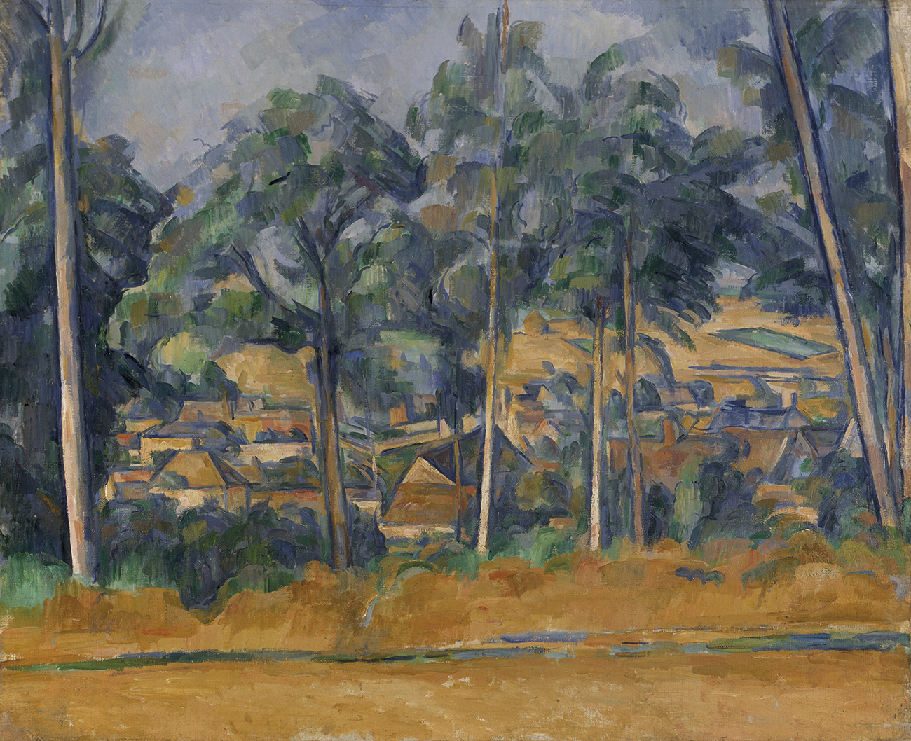 Village through the Trees | Paul Cézanne | Guggenheim Bilbao Museoa