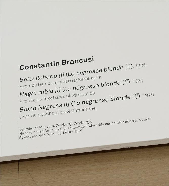 Cartelas | Guggenheim Bilbao Museoa