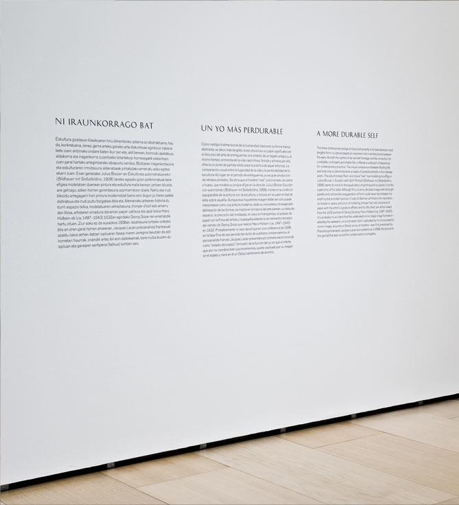 Textos de pared | Guggenheim Bilbao Museoa