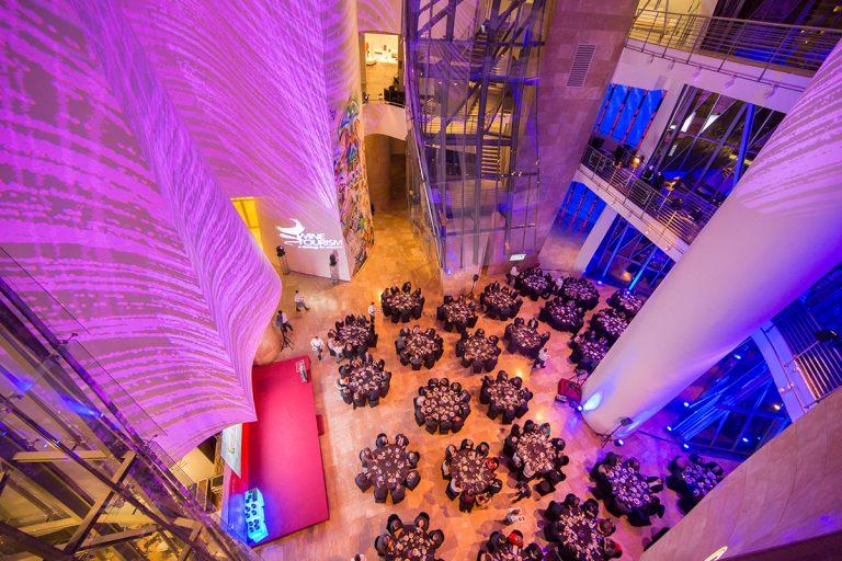 Atrio | Evento Cámara de Comercio | Guggenheim Bilbao Museoa