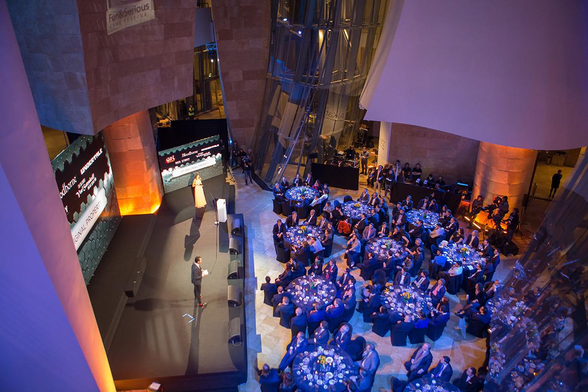 Atrio | Evento El Correo | Guggenheim Bilbao Museoa