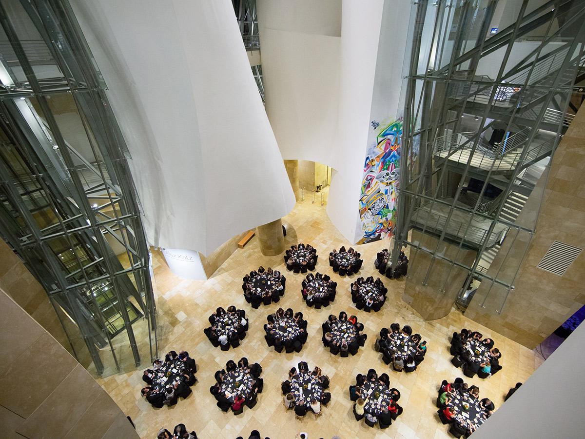 Atrio | Evento Making Africa | Guggenheim Bilbao Museoa
