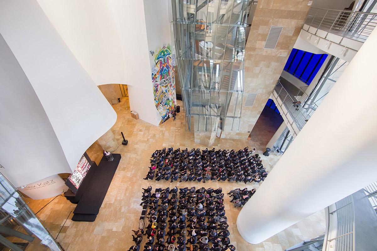 Atrio | Evento Seguros Bilbao | Guggenheim Bilbao Museoa