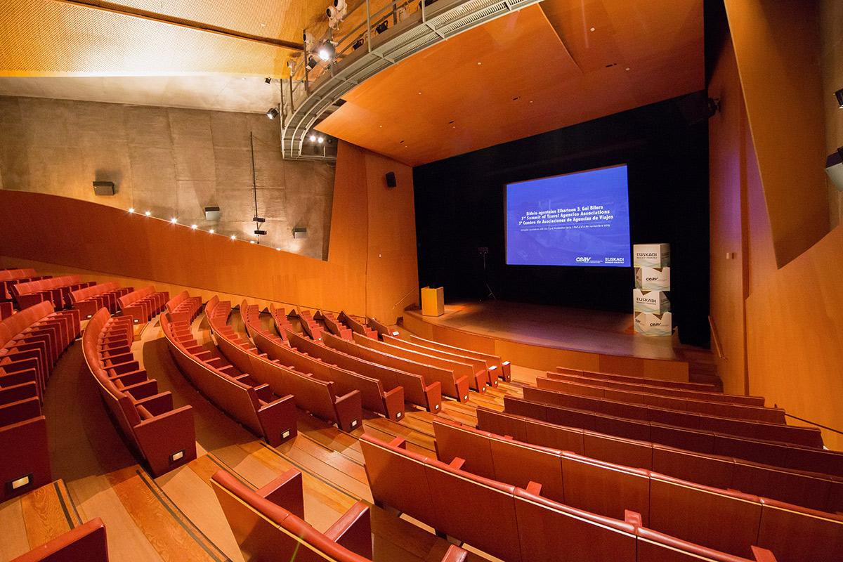 Auditorio | Evento Basquetour | Guggenheim Bilbao Museoa