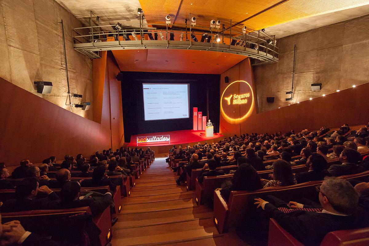 Auditorio | Evento Seguros Bilbao | Guggenheim Bilbao Museoa