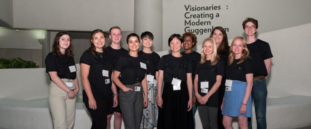 Participantes de las Becas Hilla Rebay | Guggenheim Bilbao Museoa
