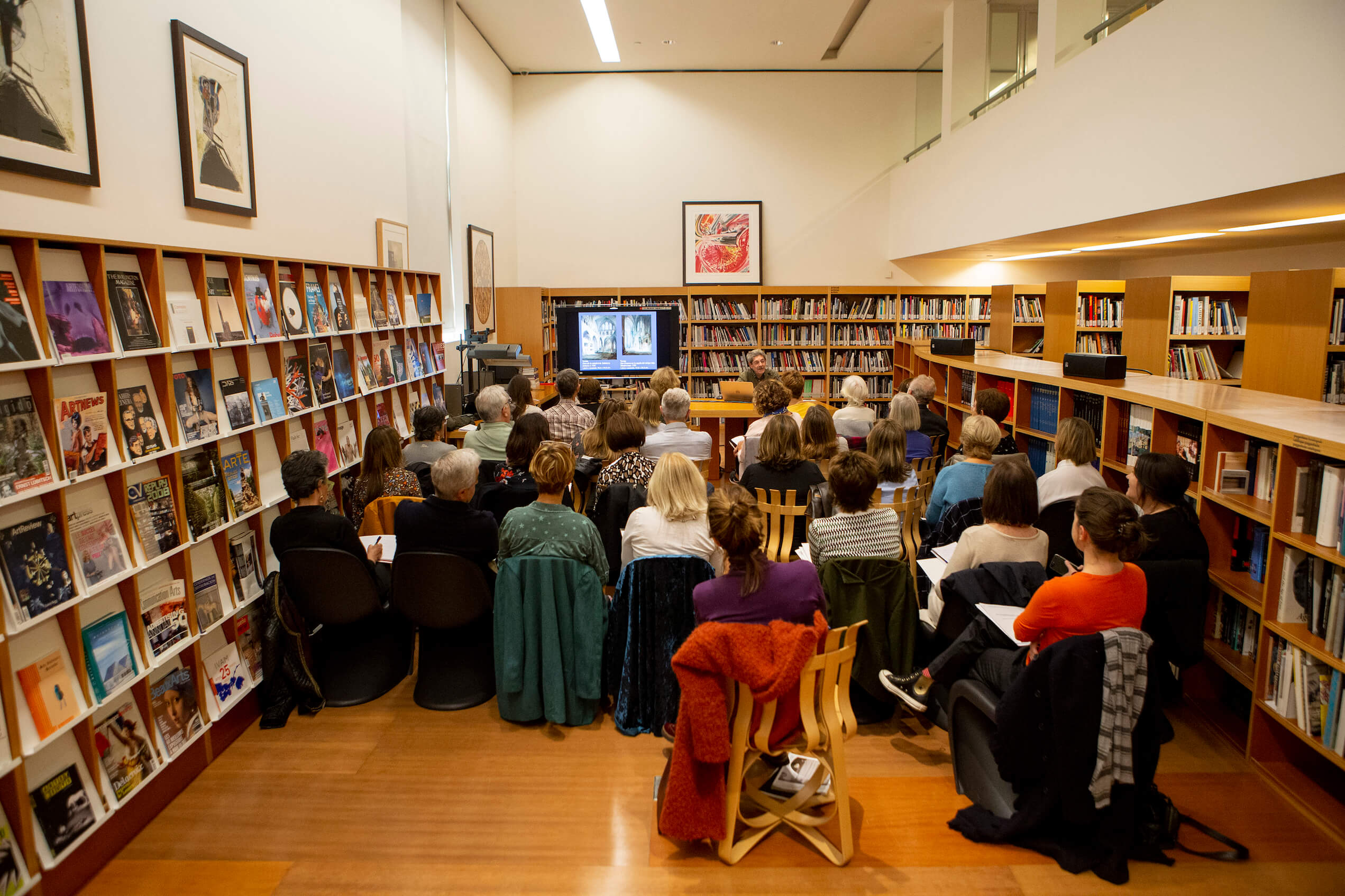Biblioteca | Evento presentación | Guggenheim Bilbao Museoa