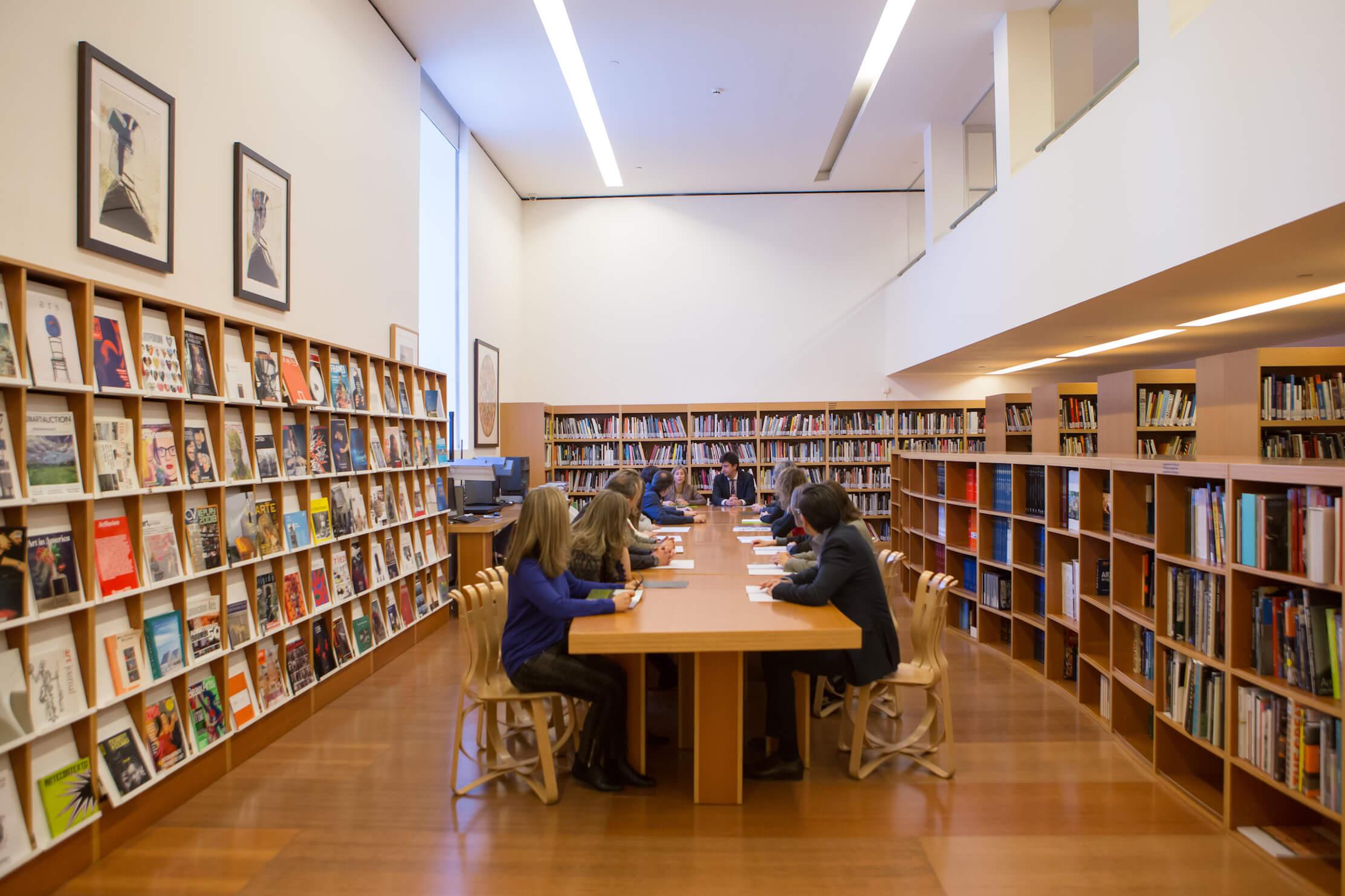 Biblioteca | Evento reunión | Guggenheim Bilbao Museoa