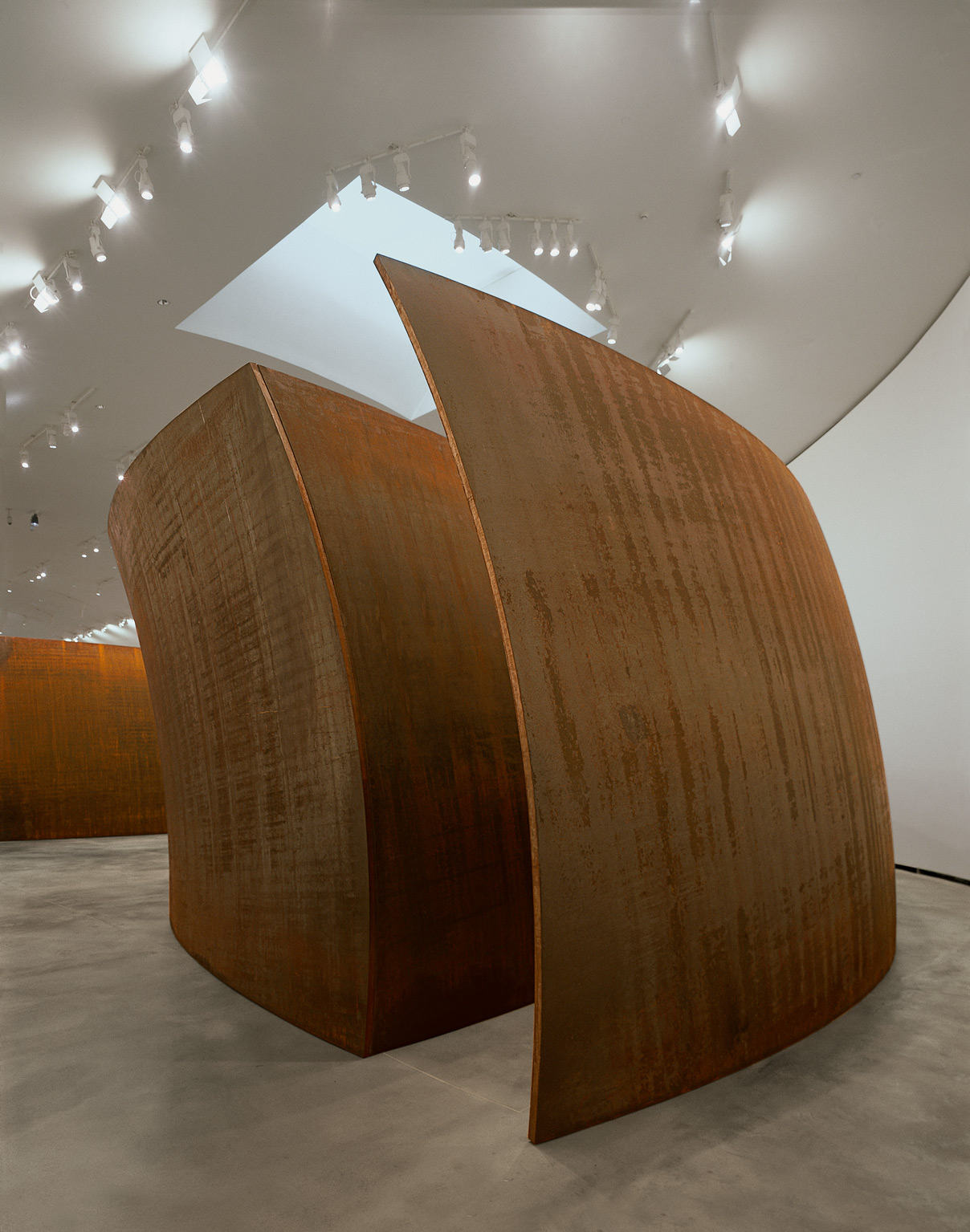 Blind Spot Reversed | The Matter of Time | Richard Serra | Guggenheim Bilbao Museoa