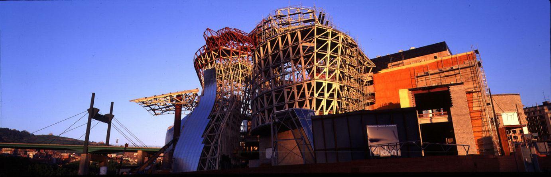 Construcción del edificio | Guggenheim Bilbao Museoa