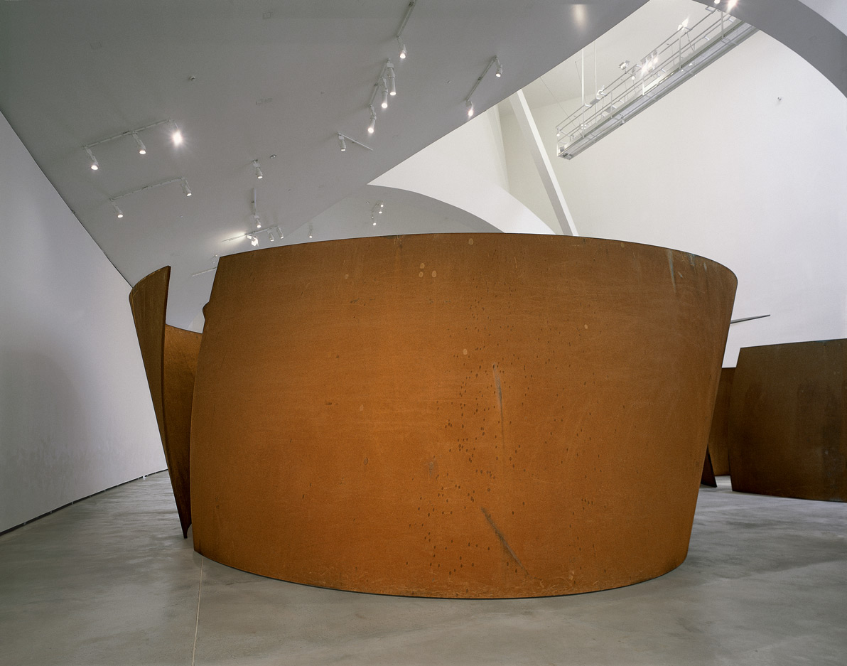 Double torsion elliptique | La matière du temps | Richard Serra | Guggenheim Bilbao Museoa