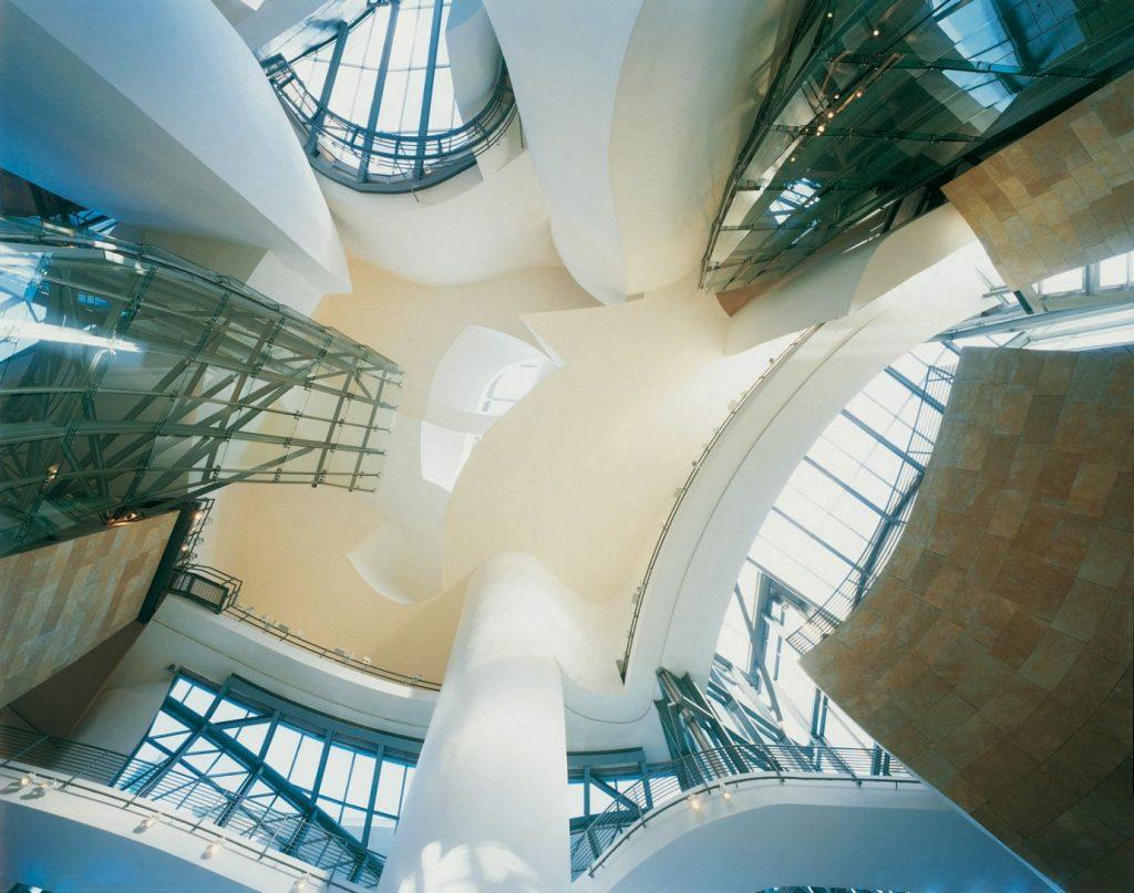 Eraikinaren barrualdea, sabaileihoa | Guggenheim Bilbao Museoa