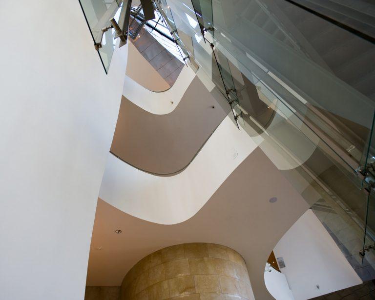 Plantas del interior del edificio | Guggenheim Bilbao Museoa