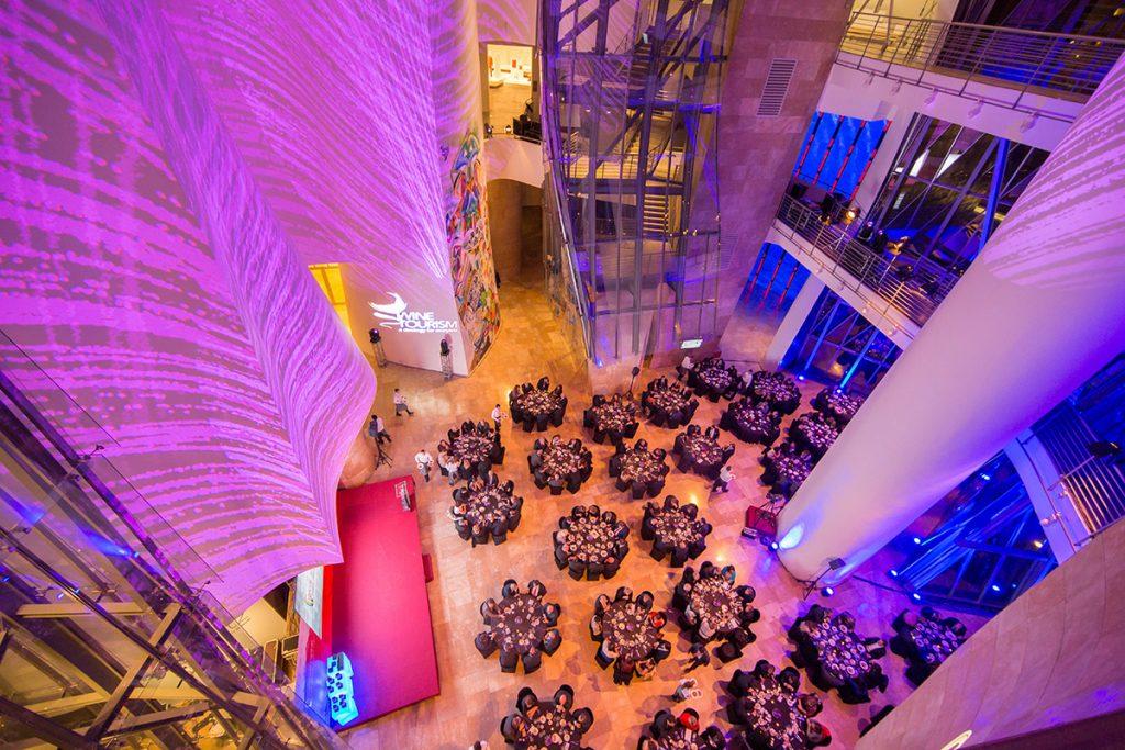 Evento de la Cámara de Comercio en el Atrio | Guggenheim Bilbao Museoa