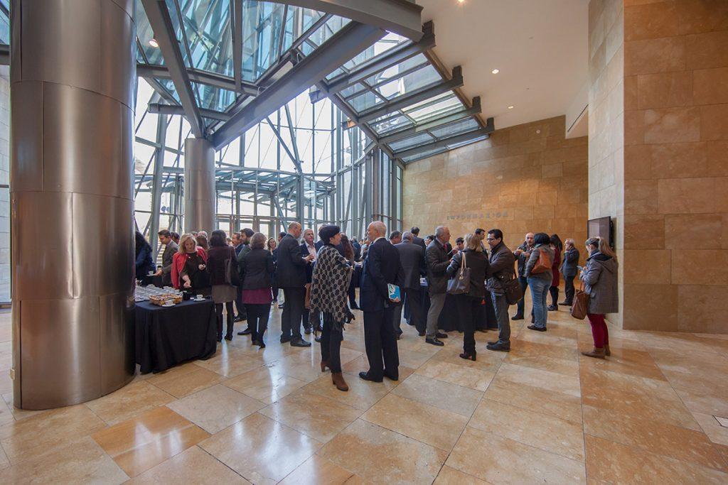 Evento se Petronor en el vestíbulo | Guggenheim Bilbao Museoa