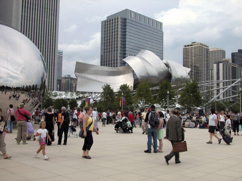 Frank Gehry-k diseinatutako eraikina Chicagon | Guggenheim Bilbao Museoa
