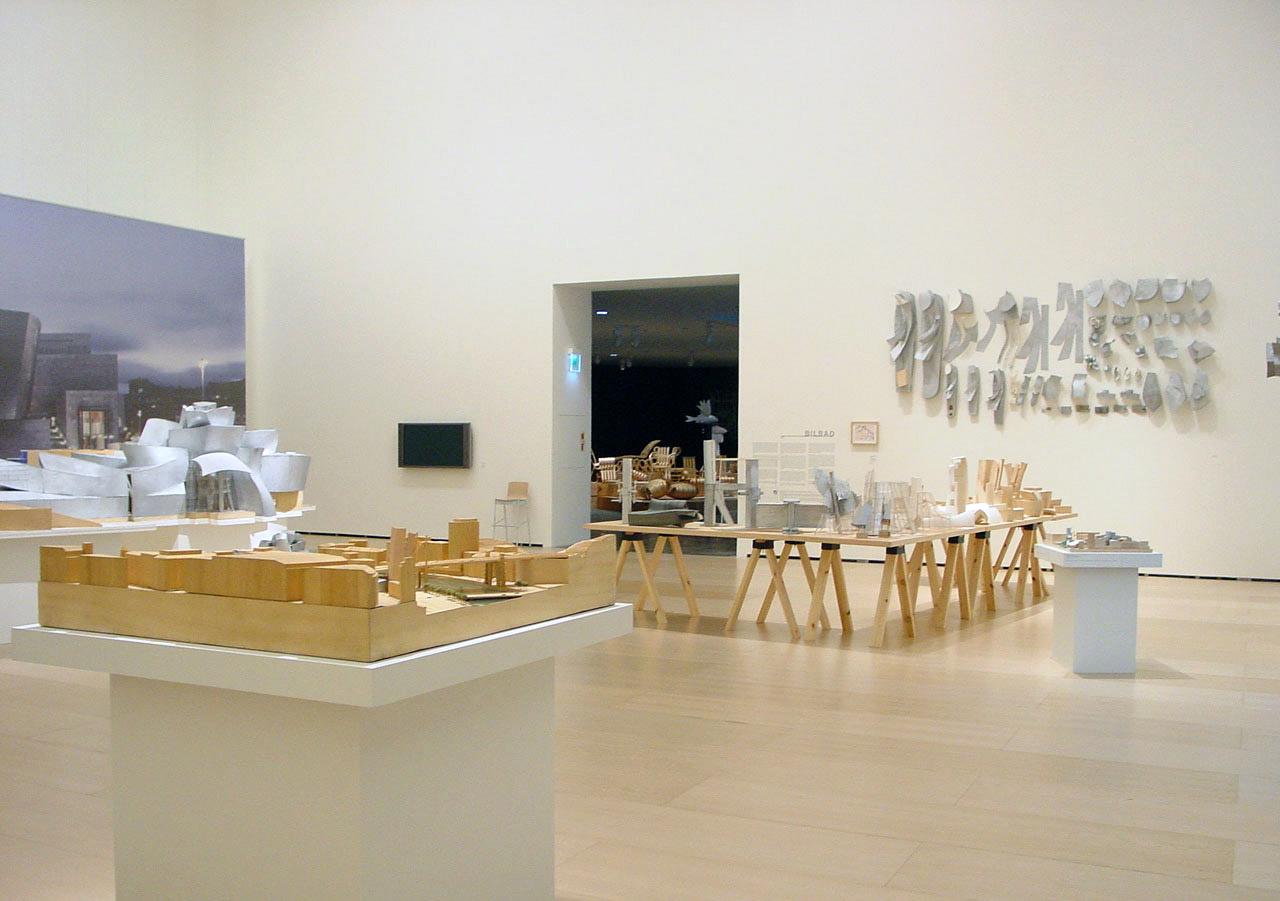 Frank Gehry-k egindako maketak | Guggenheim Bilbao Museoa