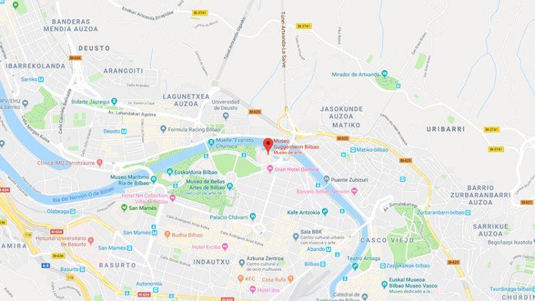 Google Maps | Guggenheim Bilbao Museoa