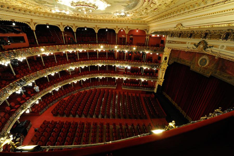 Interior del Teatro Arriaga