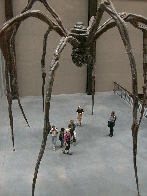 Maman à Tate Modern, Londres | Louise Bourgeois | Guggenheim Bilbao Museoa