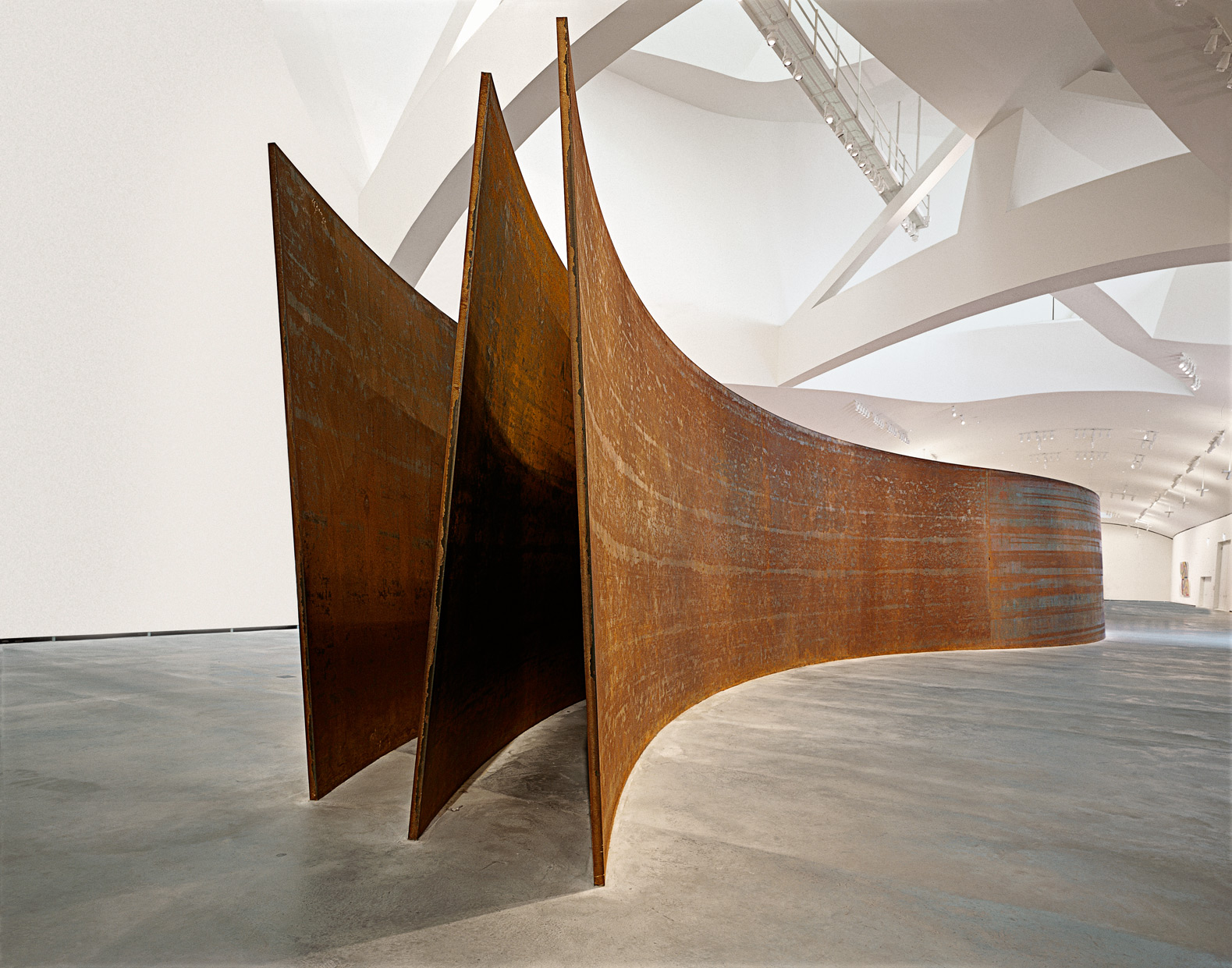 Snake | The Matter of Time | Richard Serra | Guggenheim Bilbao Museoa