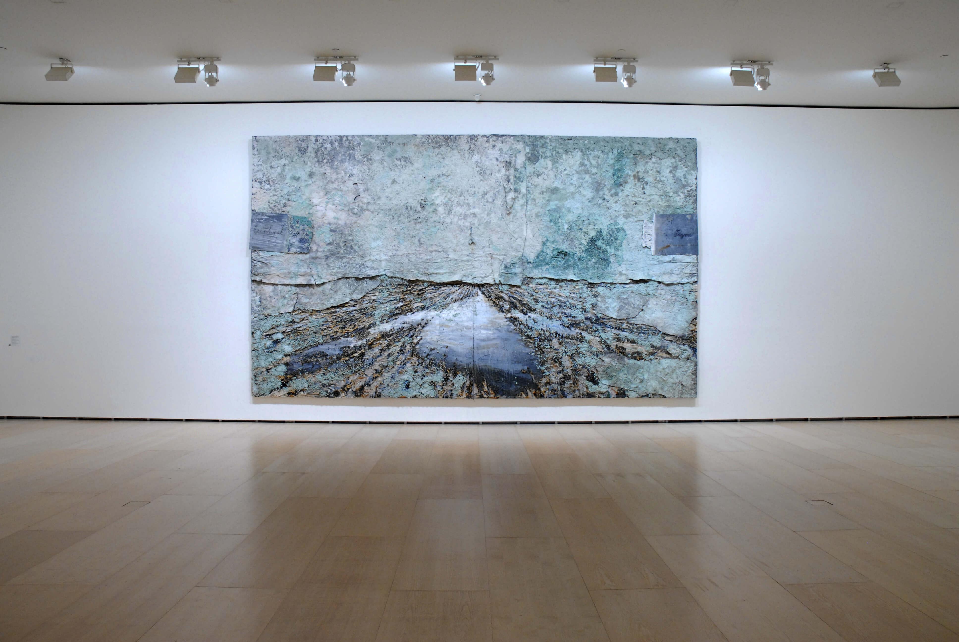 Tierra de los dos ríos | Anselm Kiefer | Guggenheim Bilbao Museoa