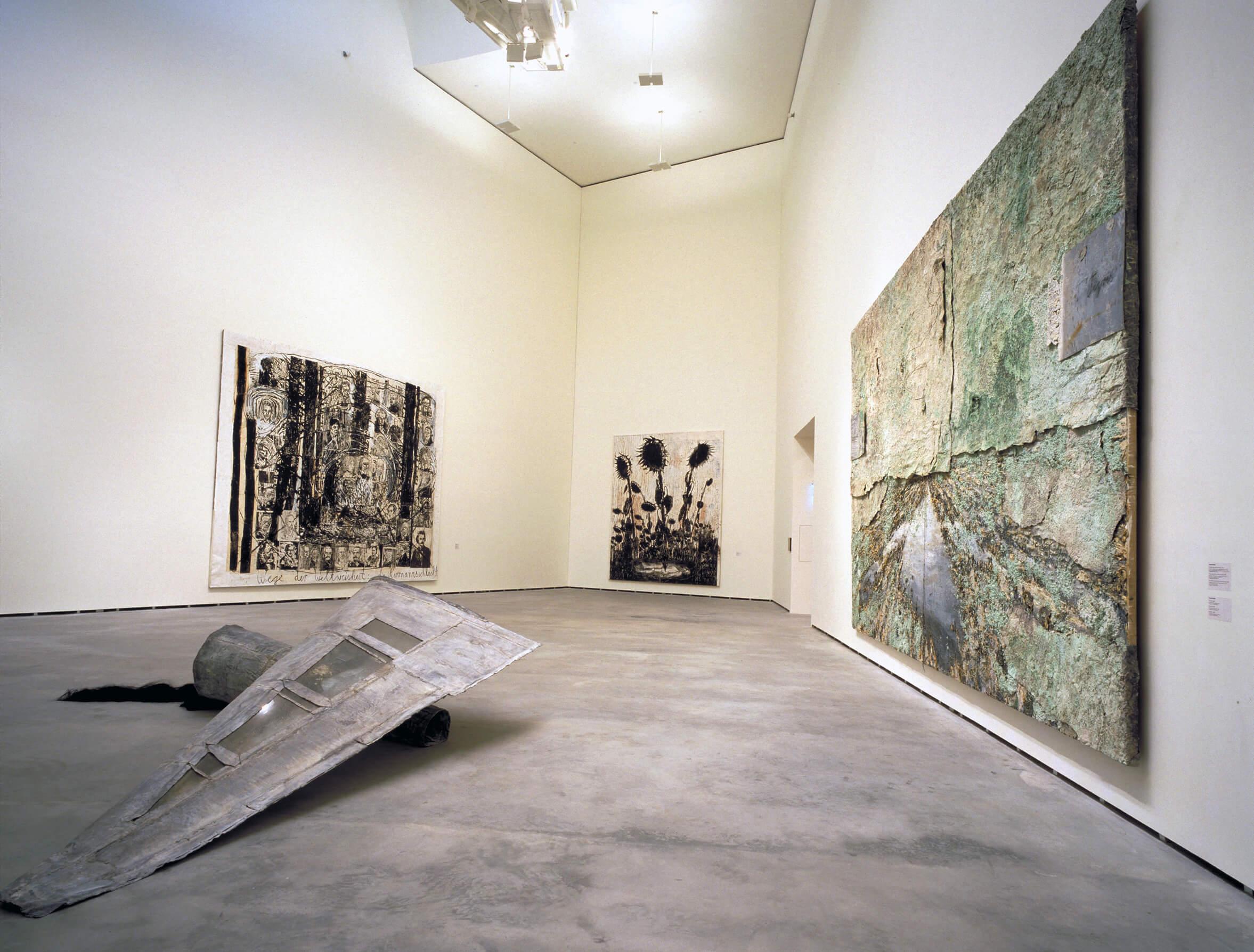 Bi ibaien lurra | Anselm Kiefer | Guggenheim Bilbao Museoa