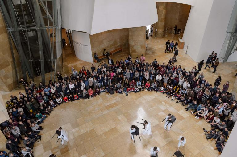 Colaboración e intercambio | Aprende | Guggenheim Bilbao Museoa