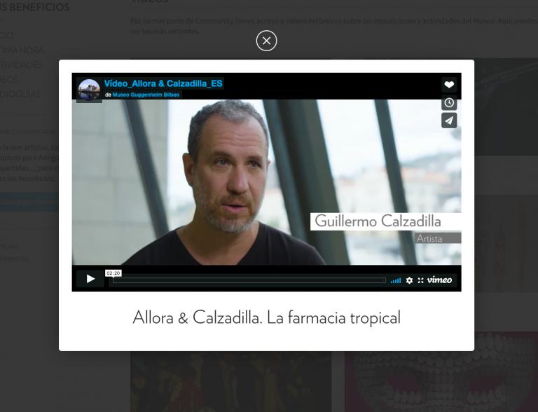 Exclusive online content | Guggenheim Bilbao Museoa