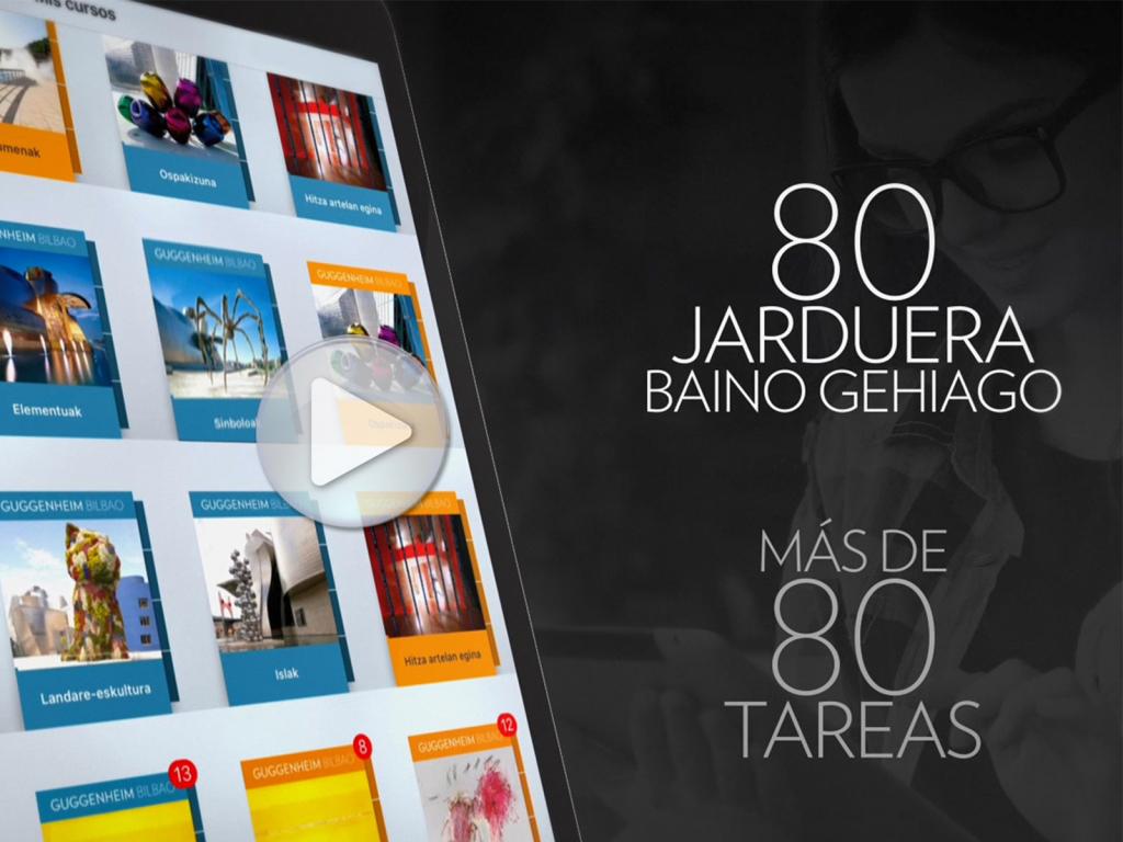 Cursos gratuitos en iTunes | Guggenheim Bilbao Museoa