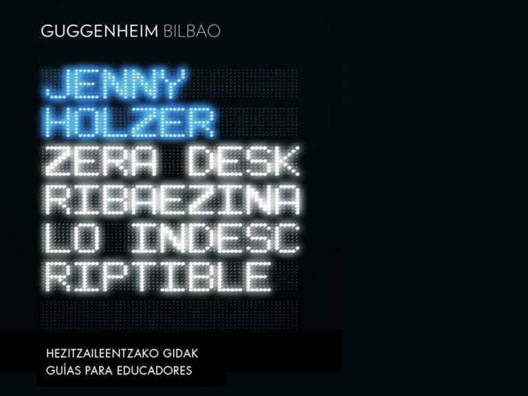 Hezitzaileentzako online gidak | Guggenheim Bilbao Museoa