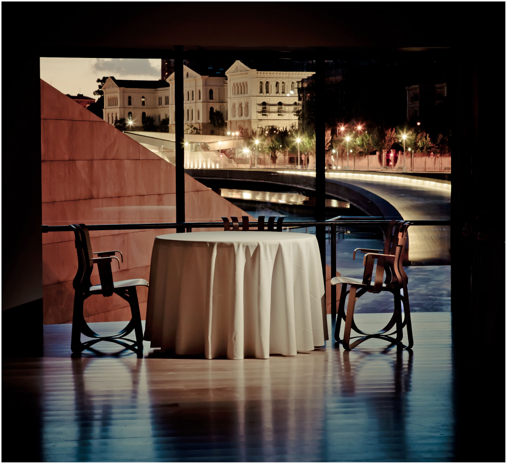 Interior del restaurante Nerua | Guggenheim Bilbao Museoa
