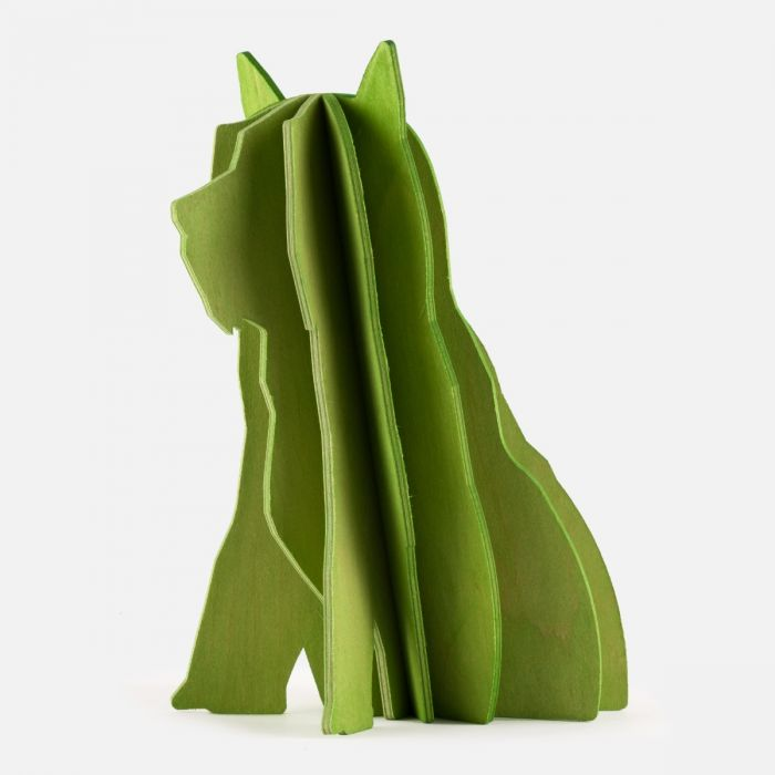 Puppy made from birch plywood | Products | Tienda Guggenheim Bilbao Museoa