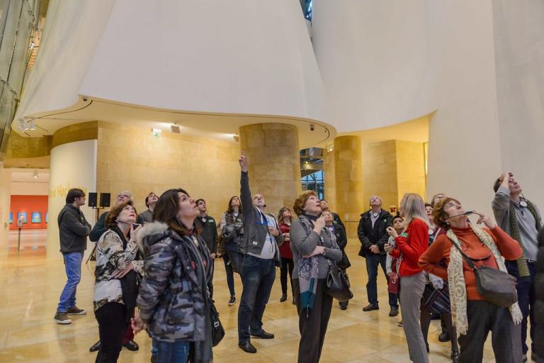 Visitas guiadas exclusivas | Guggenheim Bilbao Museoa
