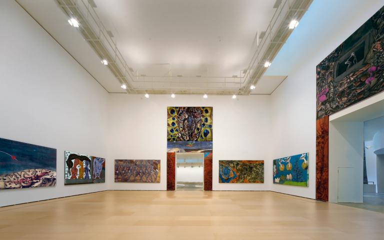 Amaren gela | Francesco Clemente | Guggenheim Bilbao Museoa