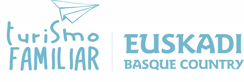 Logo Turismo Familiar. Euskadi