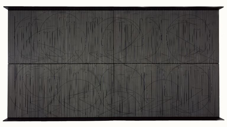 Escritura muro negro | Guggenheim Bilbao Museoa
