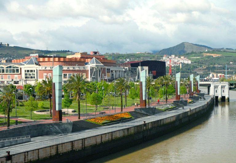 Paseo Abandoibarra, Bilbao