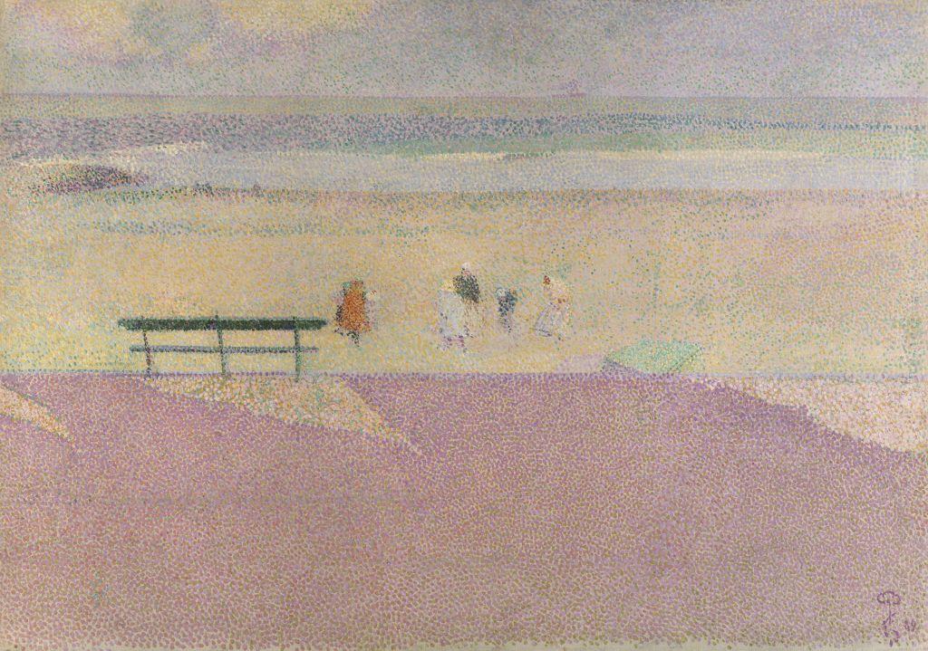 En la costa (Blankenberge)