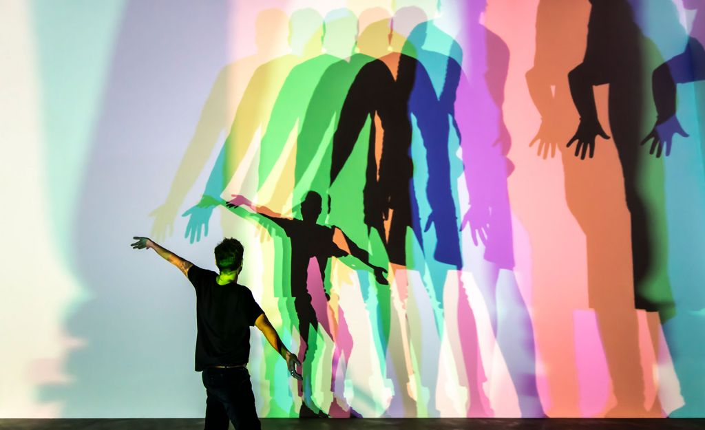 Olafur Eliasson Your uncertain shadow 2010