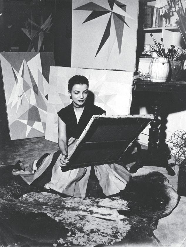 1Lygia Clark en su estudio